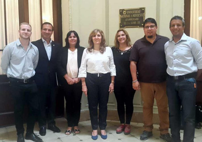 Profesionales de Turismo se reunieron con la Rectora de la UNNE