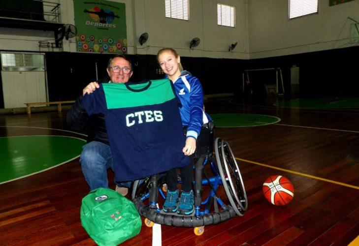 Jorge Terrile recibió a Florencia González Cabaña