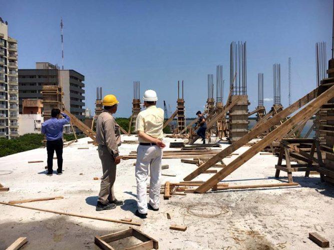 Megaobra de la Escuela de Construcciones Portuarias