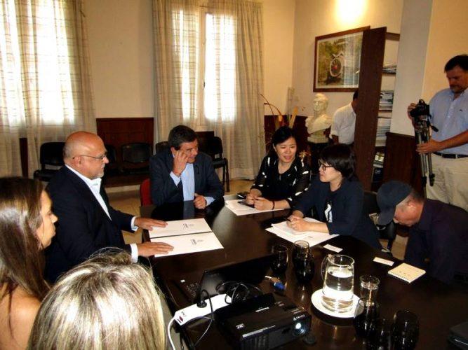 Una delegación de China visita Corrientes