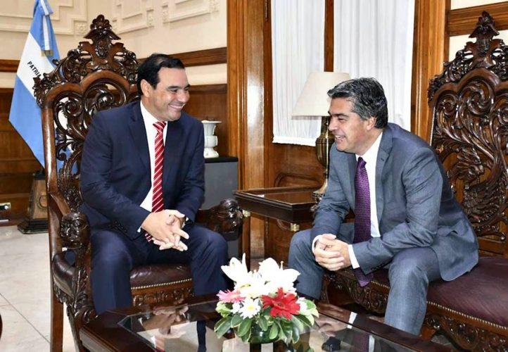 Valdés y Capitanich avanzan con el desarrollo de Corrientes y Chaco