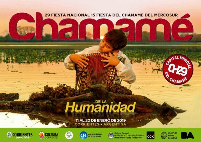 Difusión de la 29° Fiesta Nacional del Chamamé
