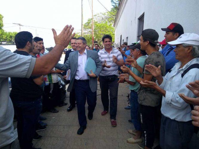 Guillermo Osnaghi se defiende de las acusaciones de los concejales