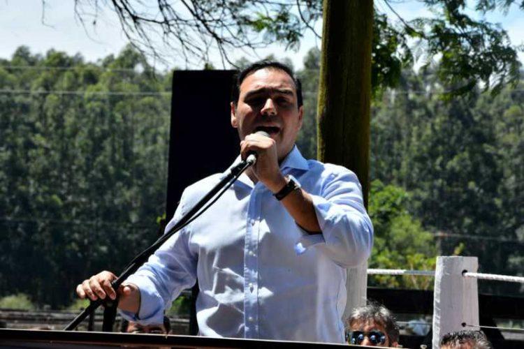 Guastavo Valdés reafirmó el compromiso con la producción y el campo