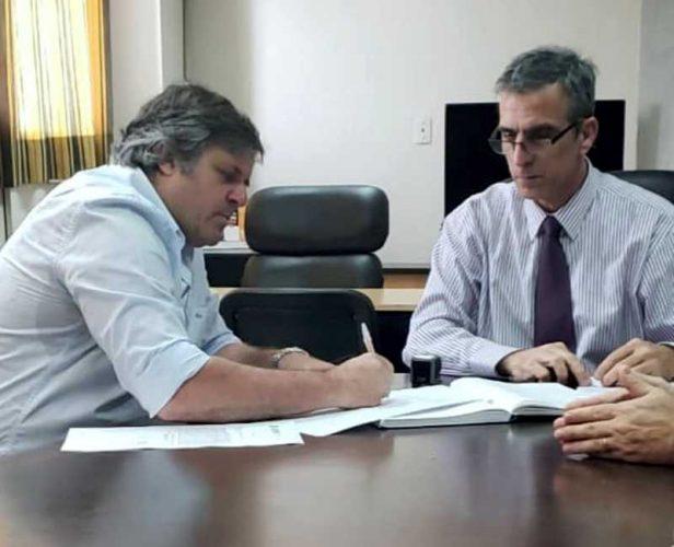 Nuevo interventor Comisión Vecinal de Saneamiento de Paso de la Patria