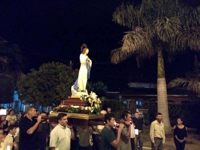 """Fiesta Patronal en Paso de la Patria """"Inmaculada Concepción de María"""""""