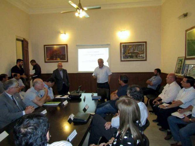 Comisión Provincial de Emergencia Agropecuaria en el Ministerio de la Producción