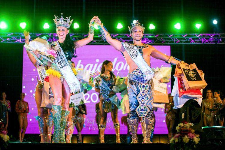 Valeria Alarcón y Matías Núñez Embajadores Culturales del Carnaval correntino