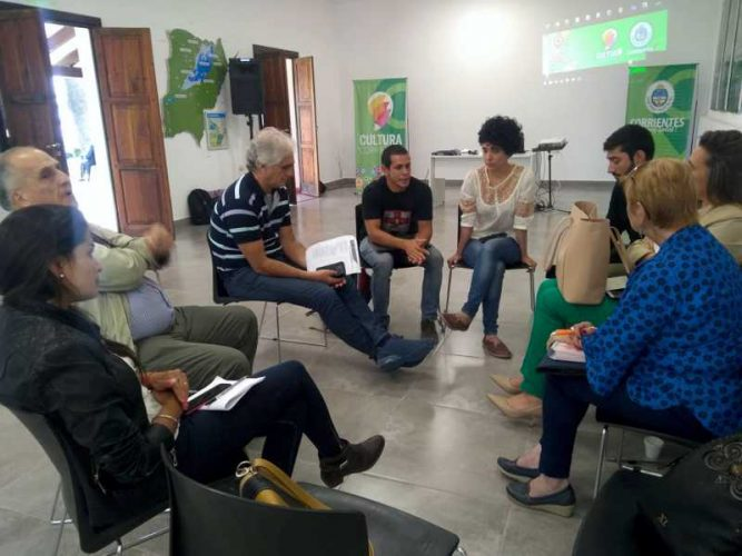Se reunieron Directores de Cultura de 30 municipios